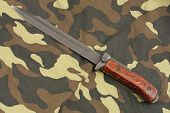 bayonet knife for rifle to camouflage