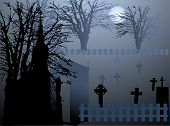 picture of obituary  - Graveyard in the sunrise  - JPG