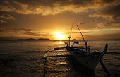 stock photo of batangas  - A dive boat at Anilao - JPG
