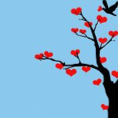 Tree of Hearts Valentine.eps
