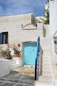 Typical Greek Island Home - Paros Island, Greece