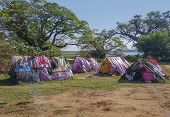 Poor Tents Made Of Old Plastic Bags Seen In Sri Llanka poster