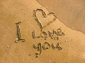 I Love You On The Beach