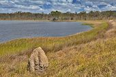 wetlands billabong Australian swamp lake Queensland Australia panorama landscape wilderness hike ter