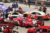 Nascar Racing At Indianapolis Motor Speedway