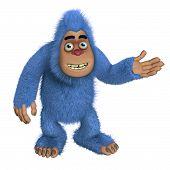 Blue Bigfoot