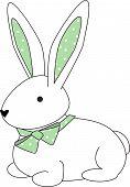 Bunny Polka Green