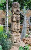 Awful sculpture in botanic garden