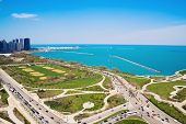 Columbus And Lake Shore Drive