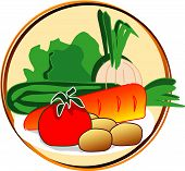 Pictogram - Vegetables