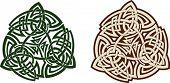 image of triskele  - Traditional Celtic triskell - JPG