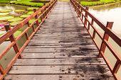 Wooden Bridge Cross Lake