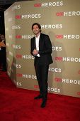 LOS ANGELES - DEC 2:  Adrien Brody arrives to the 2012 CNN Heroes Awards at Shrine Auditorium on Dec