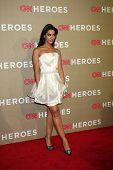 LOS ANGELES - DEC 2:  Janina Gavankar arrives to the 2012 CNN Heroes Awards at Shrine Auditorium on December 2, 2012 in Los Angeles, CA