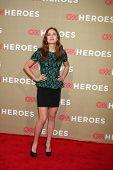 LOS ANGELES - DEC 2:  Haley Strode arrives to the 2012 CNN Heroes Awards at Shrine Auditorium on December 2, 2012 in Los Angeles, CA