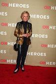 LOS ANGELES - DEC 2:  Tippi Hedren arrives to the 2012 CNN Heroes Awards at Shrine Auditorium on December 2, 2012 in Los Angeles, CA