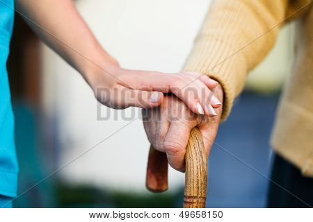 Helping The Elderly poster