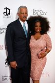 NEW YORK-AUG 5: Stedman Graham and Oprah Winfrey attend the premiere of Lee Daniels'