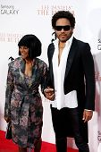 NEW YORK-AUG 5: Actress Cicely Tyson (L) and musician Lenny Kravitz attend the premiere of Lee Daniels'