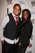 LOS ANGELES - AUG 15:  Jimmy Uso, Naomi at the Superstars for Hope honoring Make-A-Wish at the Beverly Hills Hotel on August 15, 2013 in Beverly Hills, CA