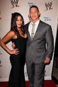 LOS ANGELES - AUG 15:  Nikki Bella, John Cena at the Superstars for Hope honoring Make-A-Wish at the Beverly Hills Hotel on August 15, 2013 in Beverly Hills, CA