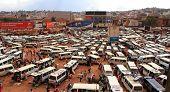 Kampala Taxi Park Panorama