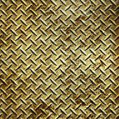 old metal diamond plate texture