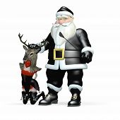 Santa In Black - Reindeer Games 3