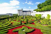 beautiful Villandry castle - Loire valley