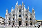 stone lace - amazing cathedral in  Milan
