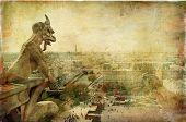 Parisian pictures - vintage series