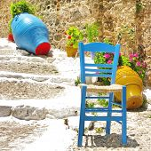 colors of Greece - traditional village style
