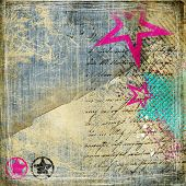 trendy vintage background