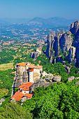 miraculous monastery, Meteora, Greece
