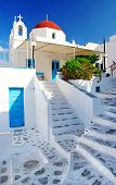 traditional Cycladic architecture - Milos island