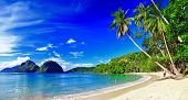 beautiful tropical scenery - el-nido,palawan