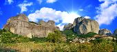 amazing Meteora rocks - Greece