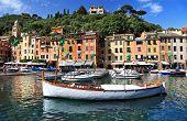 Portofino, Italy. pictorial bay