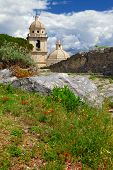 Portovenere. Italy, view with old church