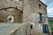 picture of ares  - Streets of the small old town Ares - JPG