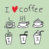 Coffee Icon Drawing