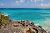 Above the sea of Barbados