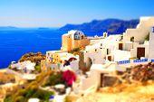 Miniature Paradise (santorini Island, Greece)