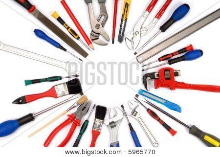 Постер, плакат: Инструменты, холст на подрамнике