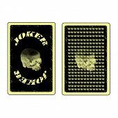 Joker And Back Side Cards
