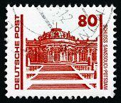 Postage Stamp Gdr 1990 Sanssouci Palace, Potsdam, Germany