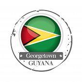 stamp Guyane