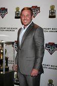 LOS ANGELES  - FEB 9:  Matt Prater at the ESPN Sport Science Newton Awards at Sport Science Studio on February 9, 2014 in Burbank, CA