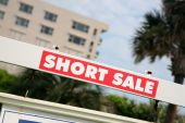 Real Estate  short Sale  sign