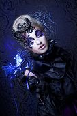foto of evil queen  - Dark queen - JPG